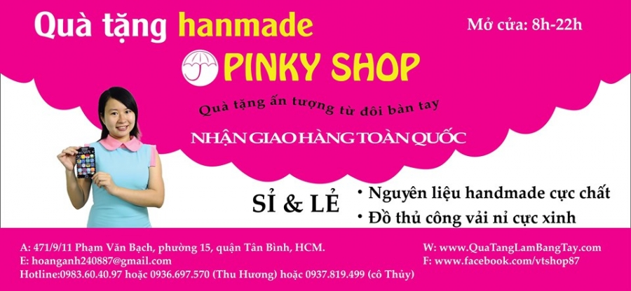 giới thiệu pinky shop